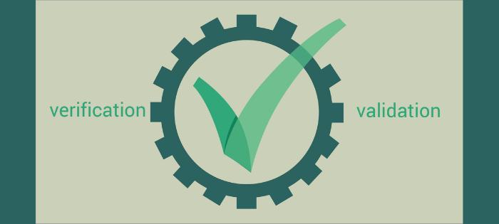 Validation vs verification